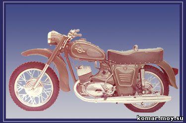 Производство мотоцикла иж планета